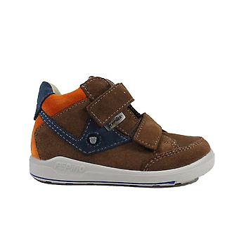 Ricosta Kimo 2431400-262 Brown Suede Leather Boys Ankle Boots
