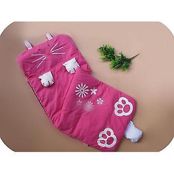 طفل كيس النوم الخريف والشتاء لطيف الحيوان القطن أكياس النوم