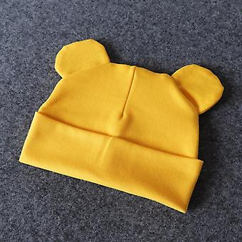 Baby Hat With Ears Cotton Warm Newborn Accessories - Kids Infant Toddler Beanie
