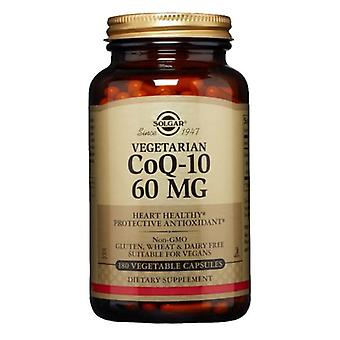 Solgar النباتي CoQ-10 60mg، 60 ملغ، 180 V قبعات