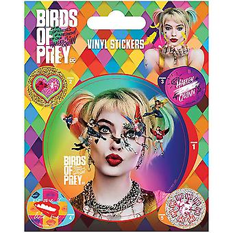 Birds Of Prey Harley Quinn Stickers Set (Pack of 5)