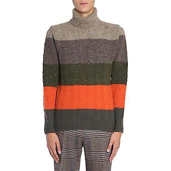 Etro 1m9379703503 Men's Multicolor Wool Sweater