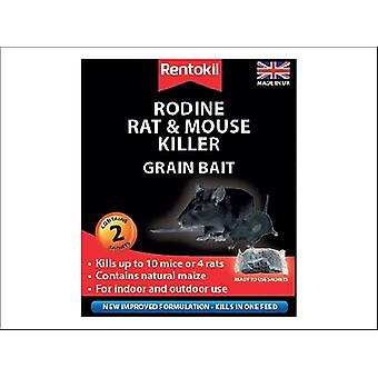 Rentokil Rodine Rat & Mouse Killer Grain x 2 PSMR11