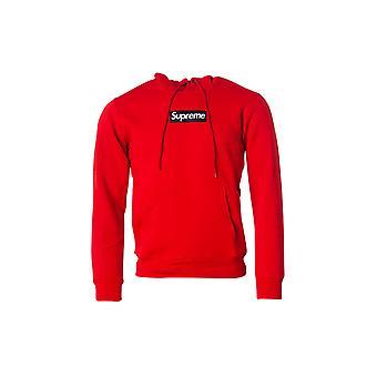 Men's Red Supreme Grip Sweatshirt