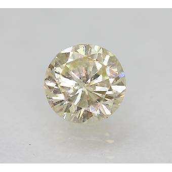 Zertifiziert 0.53 Karat K VVS2 Round Brilliant Enhanced Natural Loose Diamond 5.06m