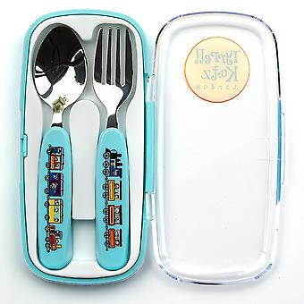 Tyrrell Katz treina 2pc Cutlery Set no caso