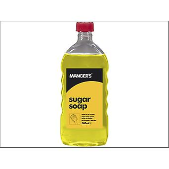 Mangers Sugar Soap Liquid Concentrated 500ml