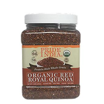 Organic Red Royal Quinoa Protein Rich Whole Grain Jar