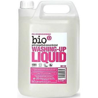Bio-D Washing-up Liquid with Grapefruit 5L x4