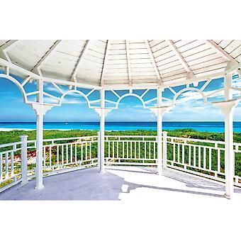Valokuva seinämaalausnäkymä Varaderon kauniista rannasta Kuubassa