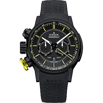 Edox - Relógio de Pulso - Homens - Quartzo - Cronoralmente - 10302 37NJ NOJ3