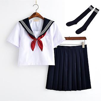 Japán osztály Navy Sailor egyenruhák diákok ruhák, sailor ruhák