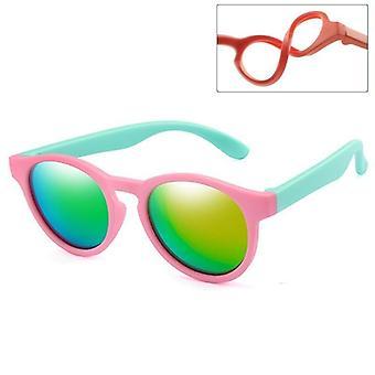 New Polarized Round Sunglasses Safety Glasses