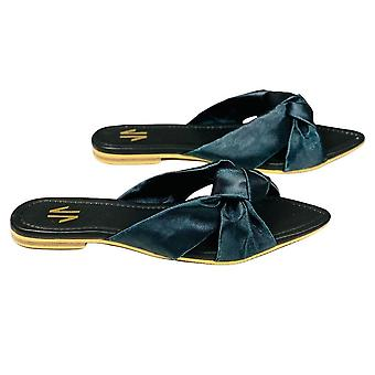 Flat Sandals Silvia Cobos Love Black