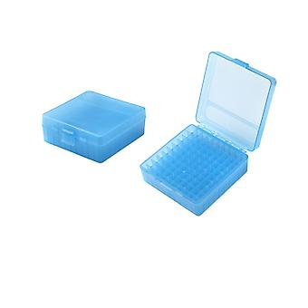 Aa Shield Plastic Ammo Box 100 Round 9mm Ammo Case Huntting Ammo Case