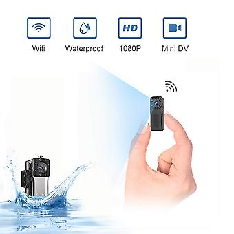 Waterproof mini spy cameras hidden wifi,niyps wireless hd 1080p portable small home nanny cam wit