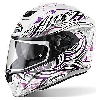 Airoh Storm Full Face Helmet - Poison White Gloss