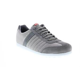 Camper Pelotas XL Mens Gray Canvas Lace Up Euro Sneakers Chaussures