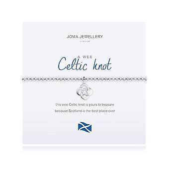 Joma Jewellery A Wee Celtic Knot Bracelet Scottish 1817