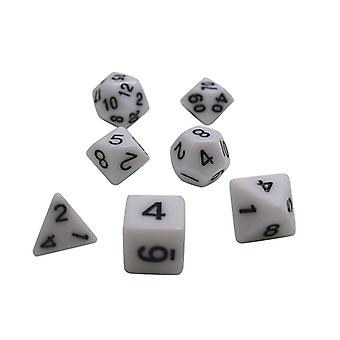 Dice Set D4,d6,d8,d10,,d12,d20 Colorful Accessories For Board Game,dnd, Rpg