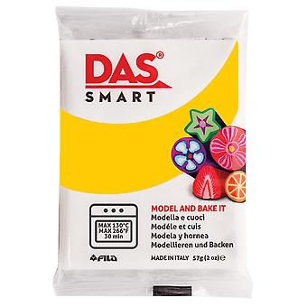 DAS 321004 Smart Oven-Bake Clay 57g (2x 28.5g) Warm Yellow