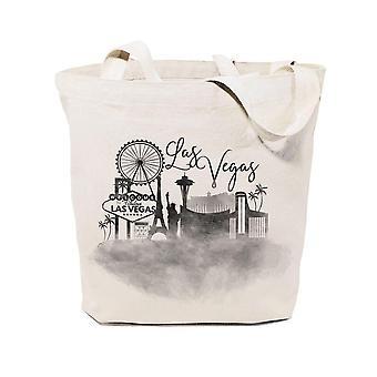 Las Vegas City - Tote Bag i bomullsduk