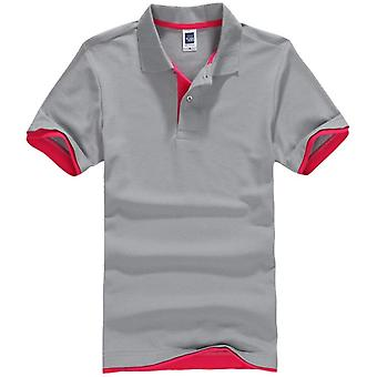 Masculina Polo Shirt, Men Cotton Short Sleeve Tops