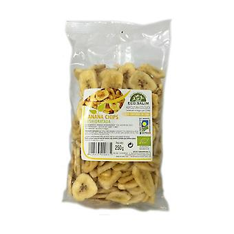 Dried Banana Chips Eco 250 g