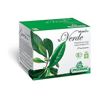 Green tea herbal tea 20 infusion bags