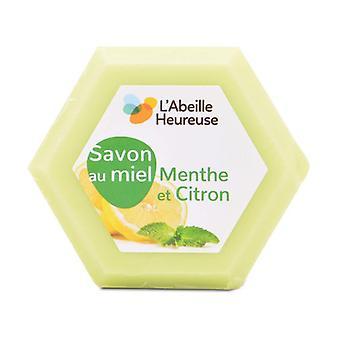 Mint and Lemon Honey Soap 1 unit