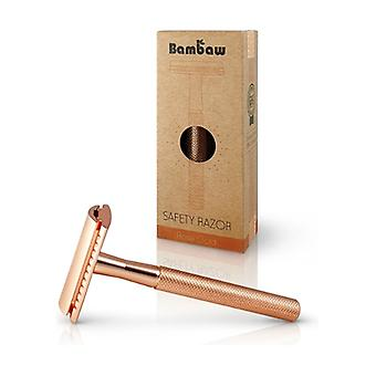 Rose Gold Stainless Steel Razor 1 unit