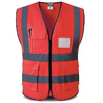Logon suojaavat työvaatteet Turvavaatteet heijastavat, 5 taskun korkuinen