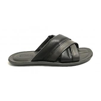 Men's Shoes Elite Ciabatta Cross-Banded Calfskin Col. Moro Head Us18el20