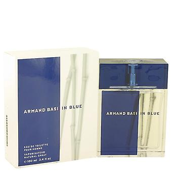 Armand Basi en Blue Eau De Toilette Spray por Armand Basi 3.4 oz Eau De Toilette vaporizador
