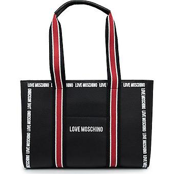 Dragoste Moschino înregistrate Logo Shopper Bag