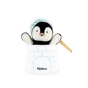Kaloo kachoo överraskning marionett gabin pingvin