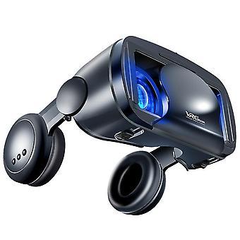 Virtual reality 3d vr headset smart glasses helmet for smartphones cell phone mobile 7 inches lenses binoculars