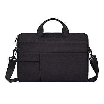 Anki Carrying Case with Strap for Macbook Air Pro - 15.6 inch - Laptop Sleeve Case Cover Black