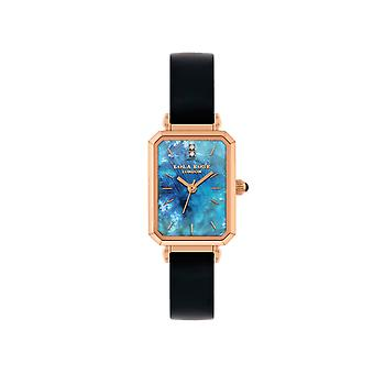 Lola Rose Lr2160 Blue Dial Leather Strap Watch For Women