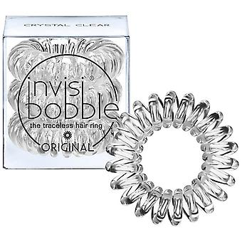 Invisibobble Crystal Clear Hair Rings 3 Units