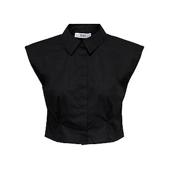 Only Women's Sia Shortsleeved Cropped Shirt