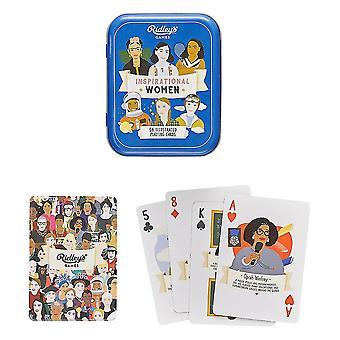 Ridley'inspiroivat naiset pelaavat korttia