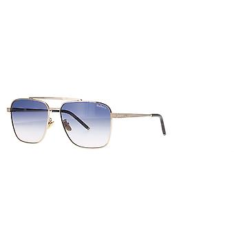 Mulberry SML041 300Y Shiny Rose Gold/Blue Gradient Pink Sunglasses