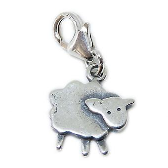 Sheep - Lamb On Lobster Clip Fitting.925 X 1 Sheeps & Lambs Charms - 15364