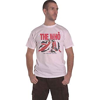 The Who T Shirt Kids Are Alright Vintage Band Logo new Official Mens White