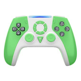 For Switch Pro Game Controller NS Pro bluetooth Wireless Controller Somatosensory Gamepads(green)