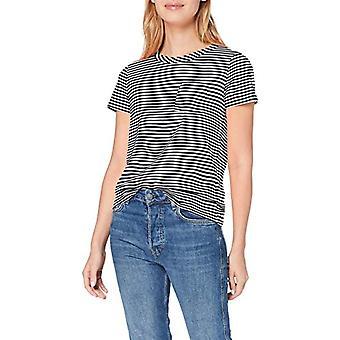 s.Oliver 21.907.32.4546 T-skjorte, Blå (Navy Small Stripes 59g0), 40 (Produsent Størrelse: 34) Kvinne