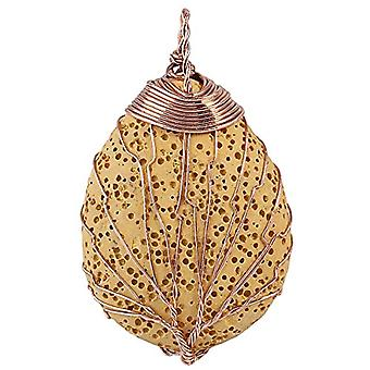 KYEYGWO - Eterisk oljespridare, lavasten halsband, vattendroppe, midjeträd, hänge för kvinna och man Ref. 0715444118036