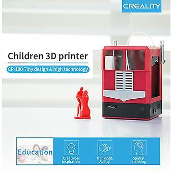 CR-100 Mini 3D Printer 100*100*80mm Print Size Creality 3D for Children