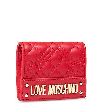 Love Moschino - Tarvikkeet - Lompakot - JC5628PP0CKA0-500 - Naiset - Punainen